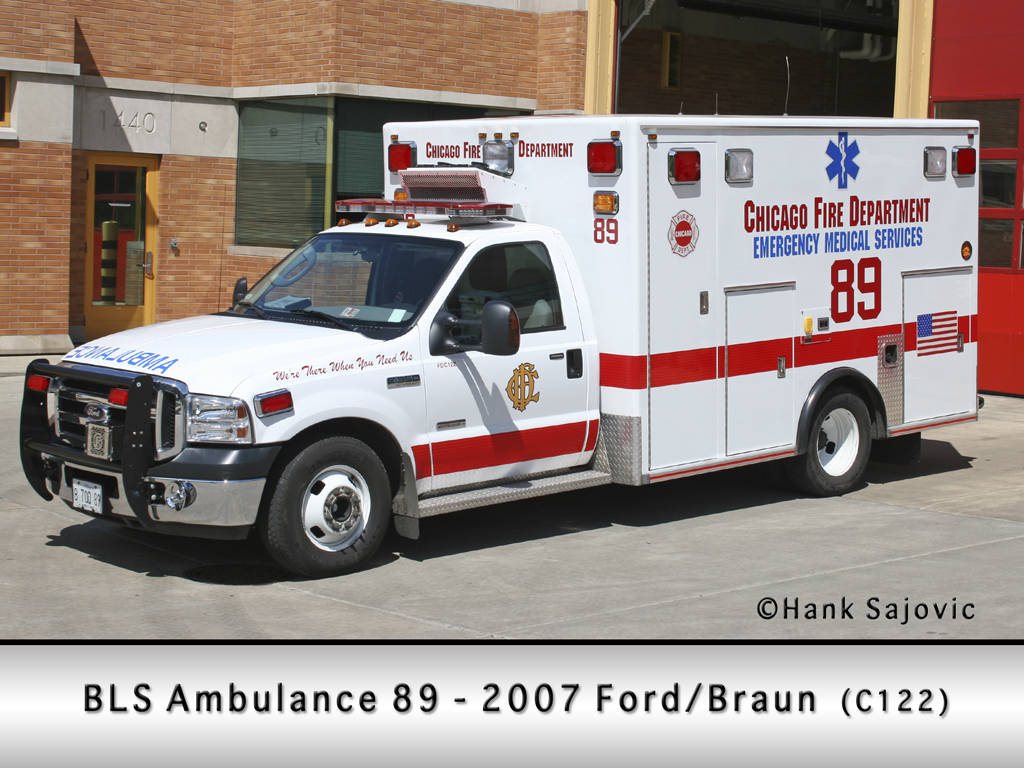 Chicago Fire Department Ambulance 83