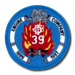 Chicago Fire Department Engine Company 39 patch