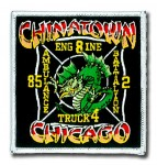 Chicago Fire Department Chinatown patch