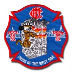 Chicago Fire Department Engine Company 95 patch