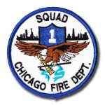 Chicago Fire Department Squad 1 patch
