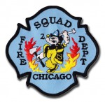 Chicago Fire Department Squad 2 patch