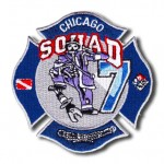 Chicago Fire Department Squad 7 patch