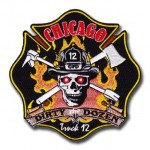 Chicago Fire Department Truck 12 patch