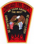 Chicago Fire Department Truck 24 company patch