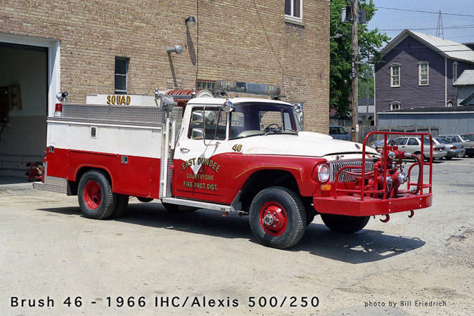 East Dundee Fire Protection District antique brush truck