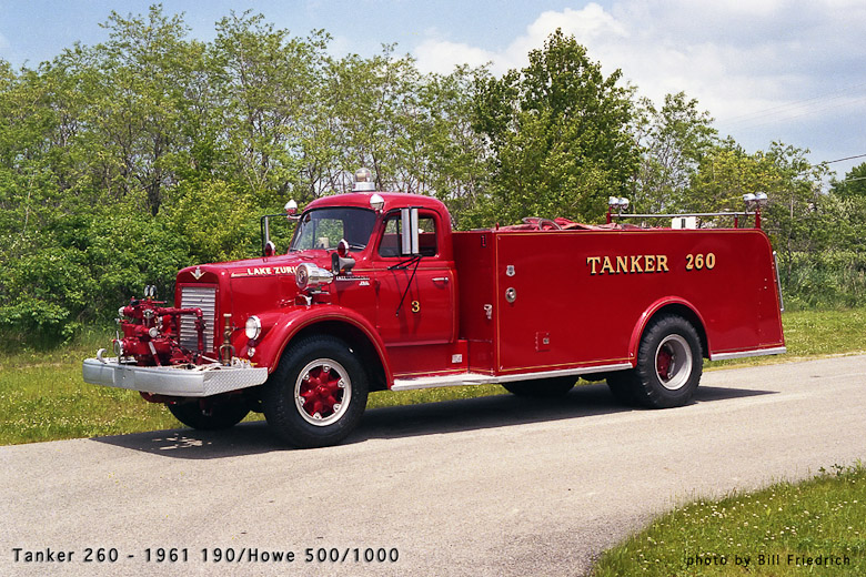 Lake Zurich Fire Department antique tanker