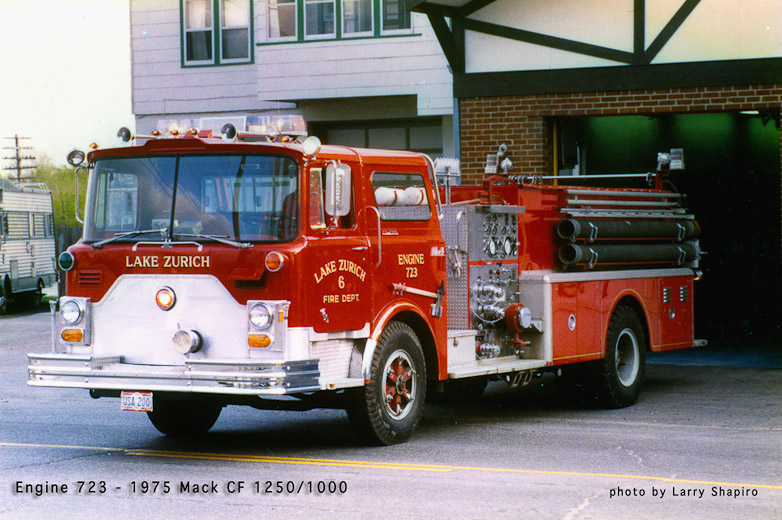 Lake Zurich Fire Department Mack CF engine