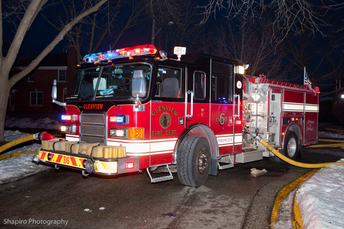 Lincolnwood Fire Department house fire St Louis 2-14-11