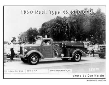 South Chicago Heights Fire Department history Dan Martin
