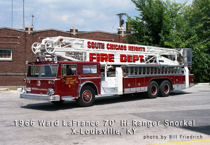 South Chicago Heights Fire Department history