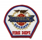Wheeling Fire Department patch