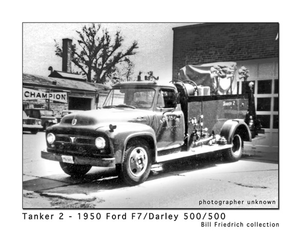 Addison Fire Department history