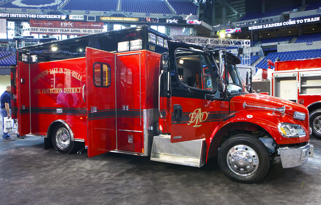 FDIC 2011 Algonquin Fire Department Medtec ambulance