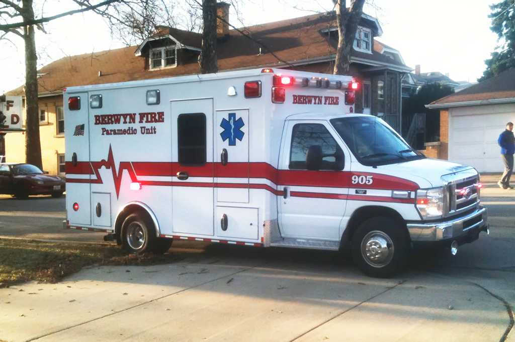 Berwyn Fire Department Ambulance 905 2011 Medtec