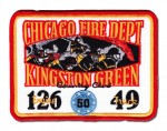 Chicago Fire Department patch Engine 126