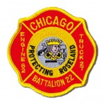 Chicago Fire Department patch Engine 62