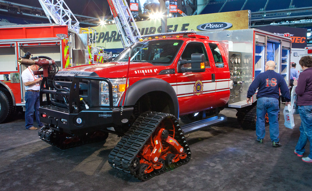 FDIC 2011 Pierce tracked mini pumper