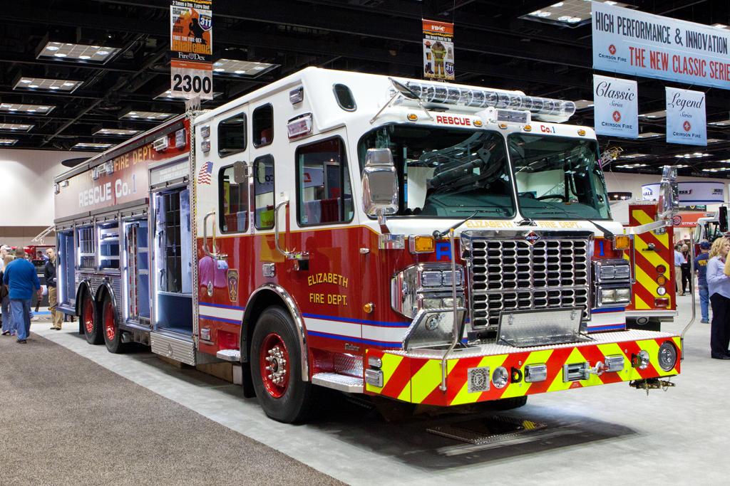 FDIC 2011 Crimson Elizabeth Fire Department Rescue 1