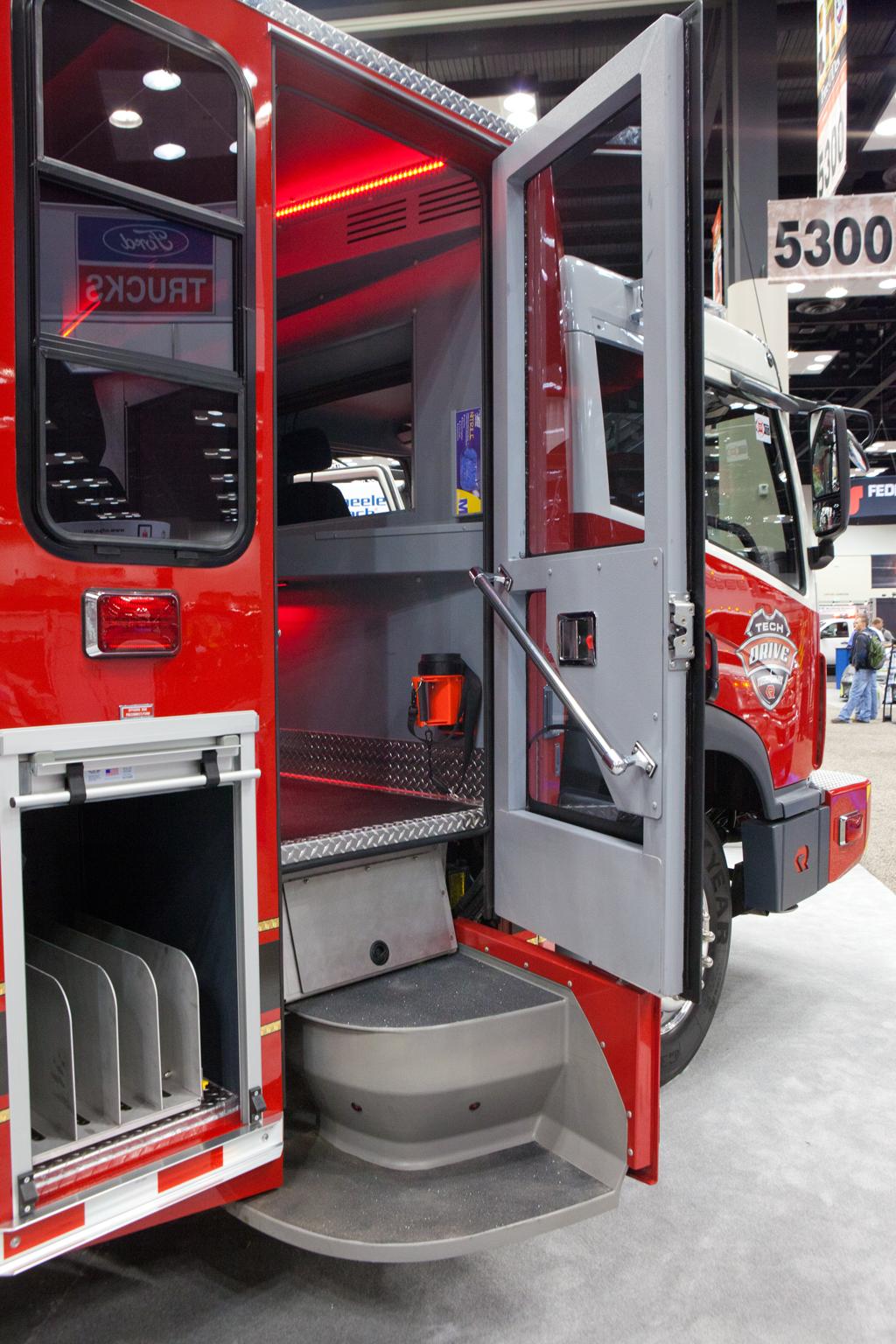 FDIC 2011 Rosenbauer Smart Cab