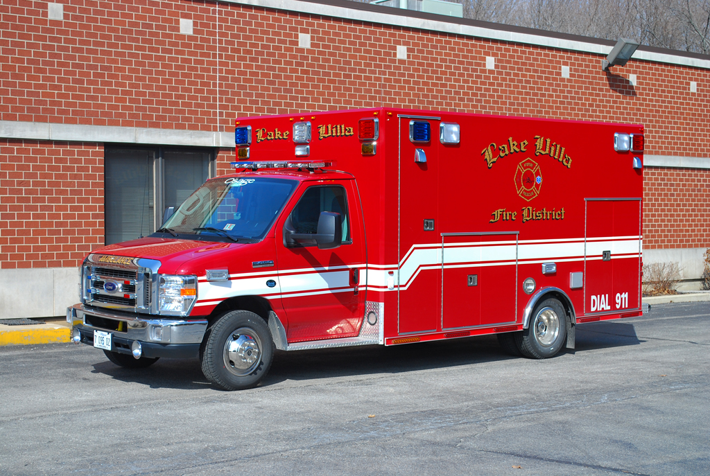 Lake Villa Fire Department 2011 Osage ambulance