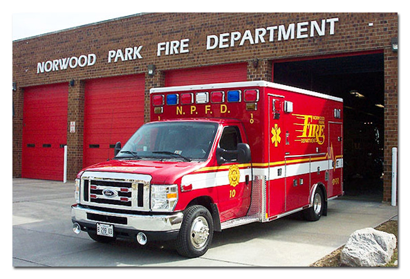 Norwood Park Fire Department Medtec ambulance