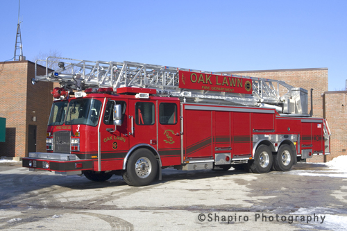 Oak Lawn Fire Department Truck 3 Anne Arundel County Truck 31