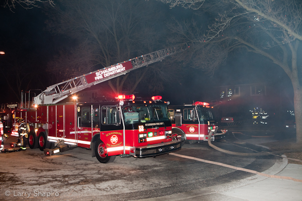 Schaumburg Fire Department house fire Holyoke Court 3-13-11