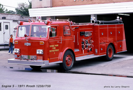 Stone Park Fire Department photo history