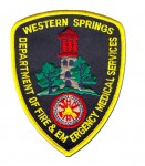Western Springs Fire Department patch