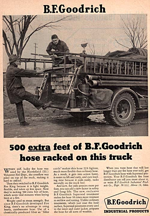 Fire Engineering Magazine ad from Apirl 1957