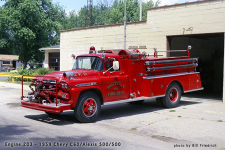 Braceville Fire Department historic photo