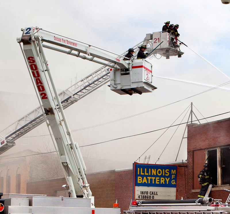 Chicago Fire Department Still and Box Alarm Irving Park Road 4-11-11