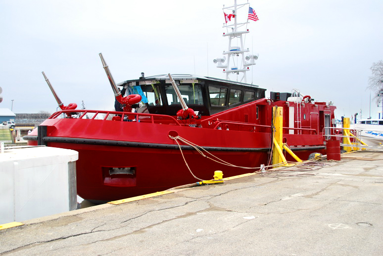 Chicago Fire Departement new fire boat