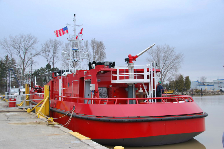 Chicago Fire Department new fire boat