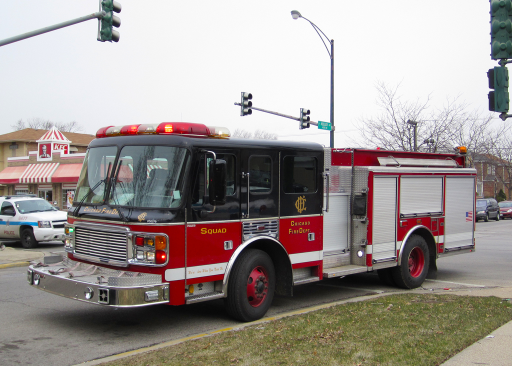 Chicago Fire Department reserve squad X-engine 23