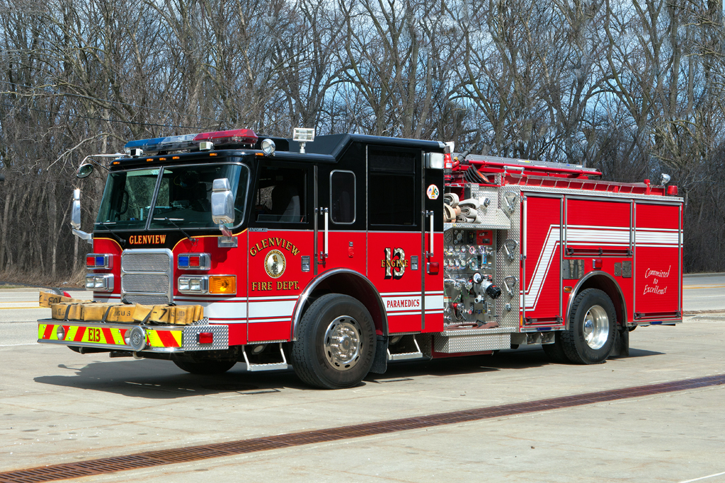 Glenview Fire Department Engine 13 2006 Pierce Enforcer