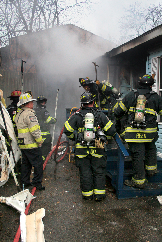 Glenview Fire Department mobile home fire resident injured 2 cats died