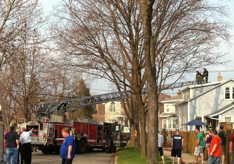 Chicago Still alarm 6500 block of Onarga