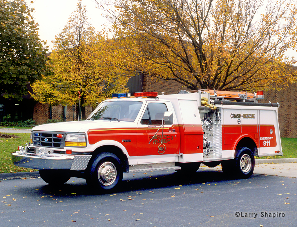 Libertyville Fire Department Engine 612 1993 Ford Hammerly