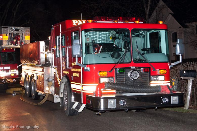 Long Grove Fire Department Lightning Strike Stayton Lane