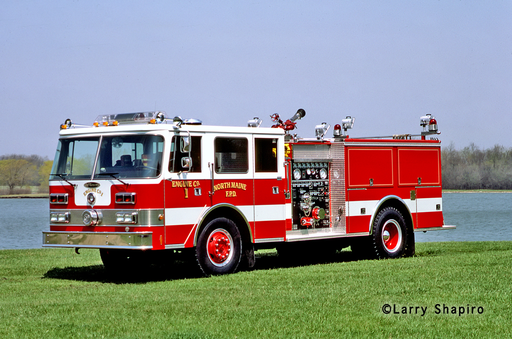 North Maine Fire Protection District Engine 1 1985 Pierce Arrow