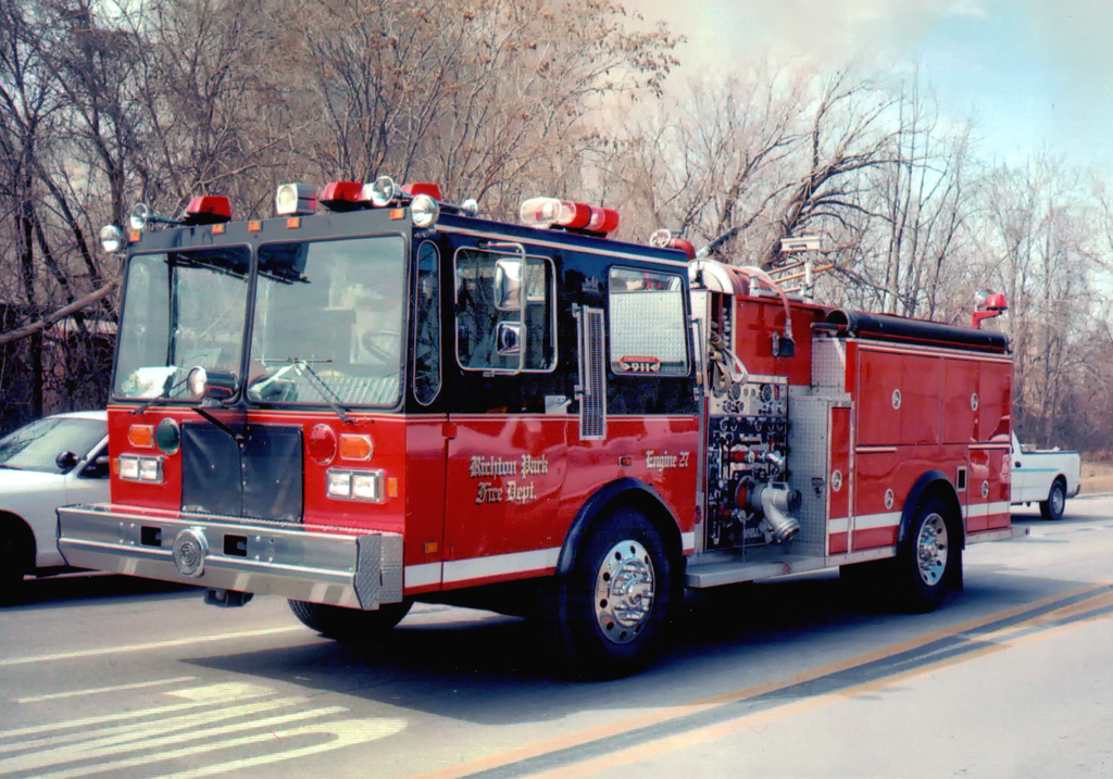 Richton Park Fire Department engine
