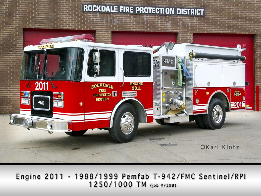 Rockdale FPD Engine 2011 Pemfab FMC Sentinel