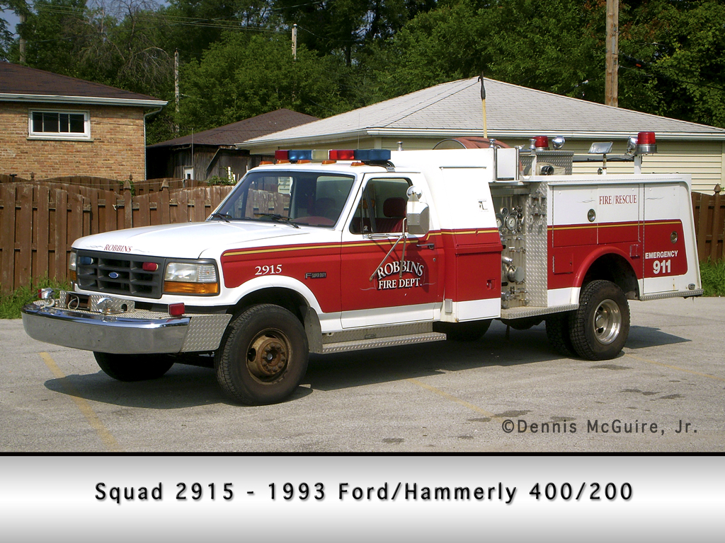 Robbins Fire Department Squad 2915