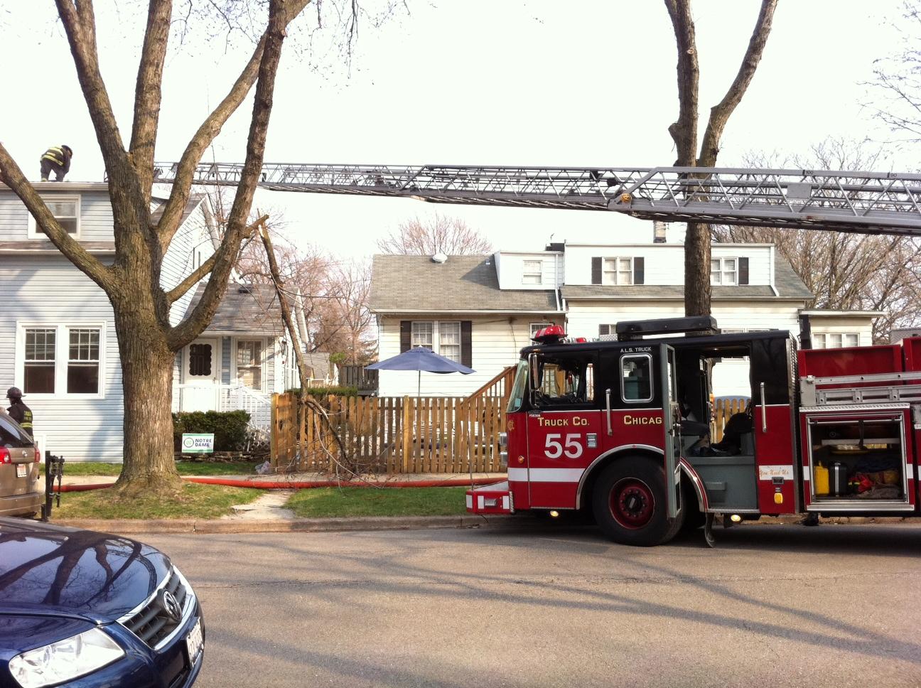 Chicago Fire Department Pierce Truck 55