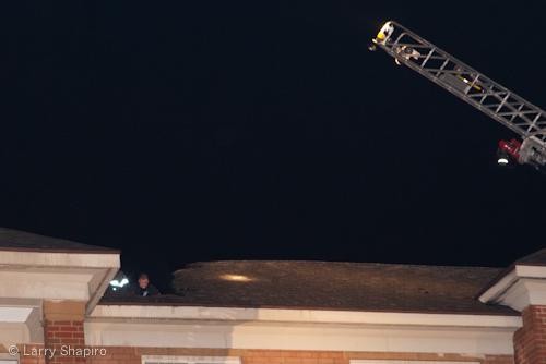 Glenview IL apartment building fire lighting strike Summit Drive 5-22-11