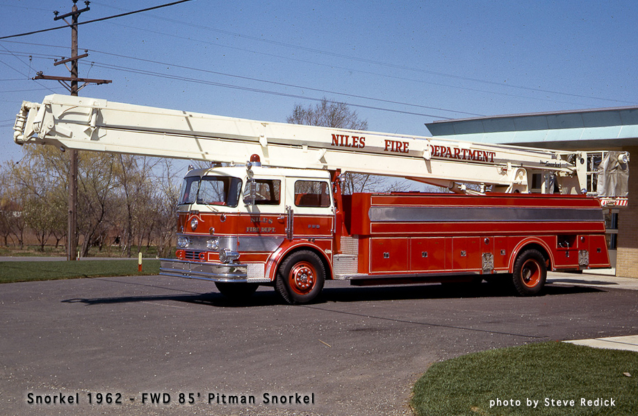 Niles Fire Department 1962 FWD Pitman Snorkel
