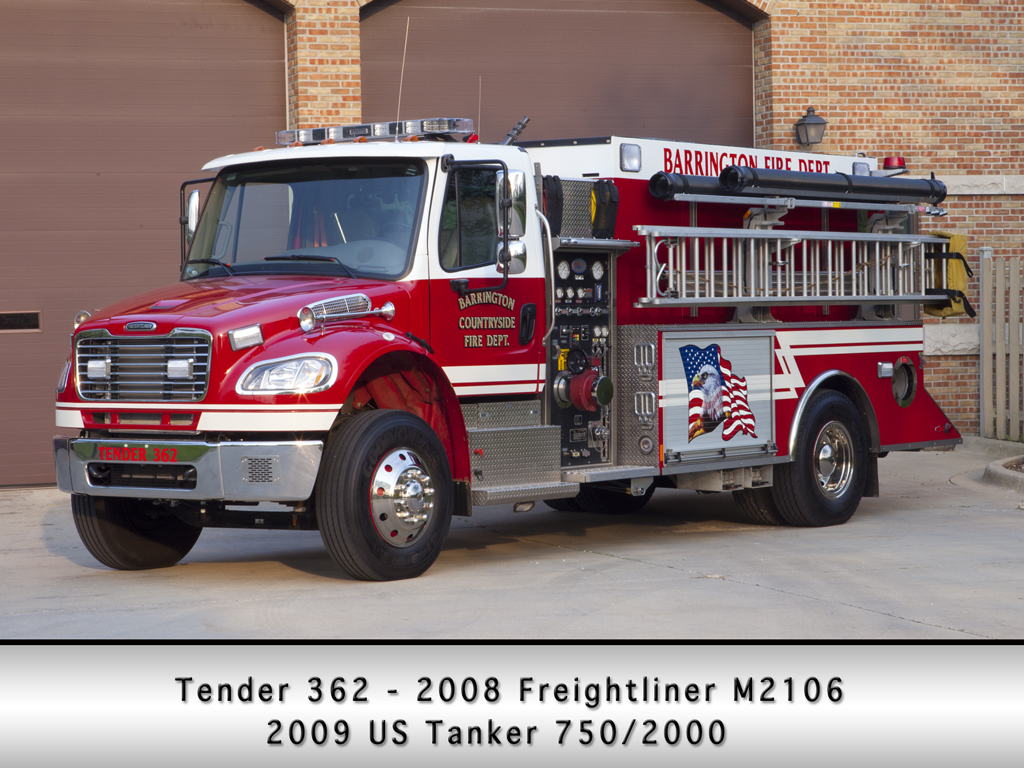 Barrington Fire Department US Tanker