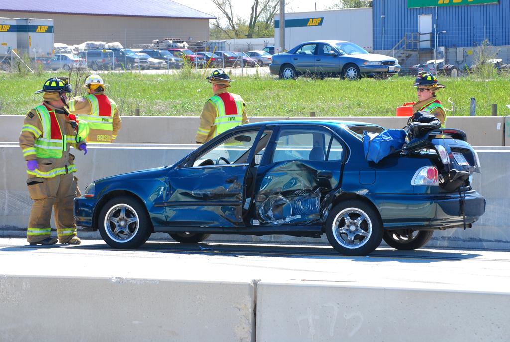 Motor vehicle accident Bristol WI